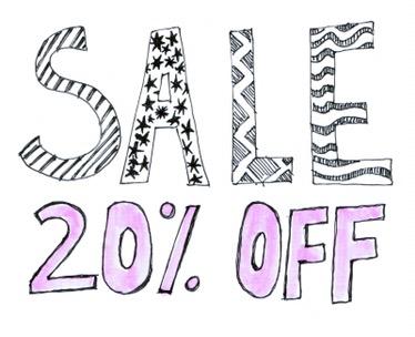 Sale 20% korting!